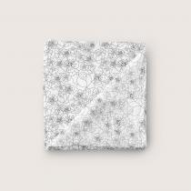 BN X PPPC Mono Flowers – Luxe Muslin Blanket