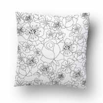 BN X PPPC Mono Flowers – Pillow Case