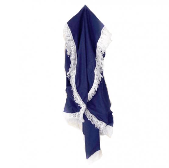 Navy Heirloom Blanket